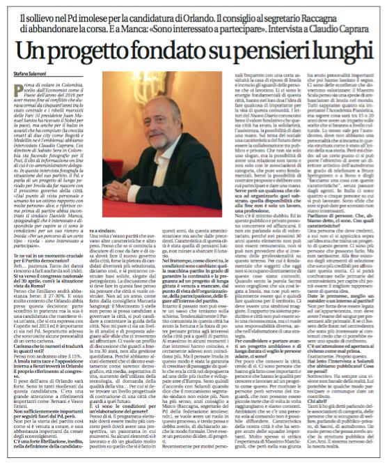 Intervista Diario