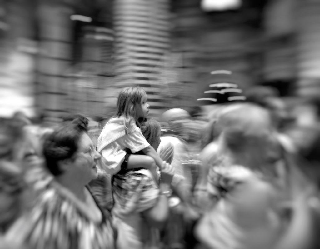 La bambina della Lupa nel duomo di Siena